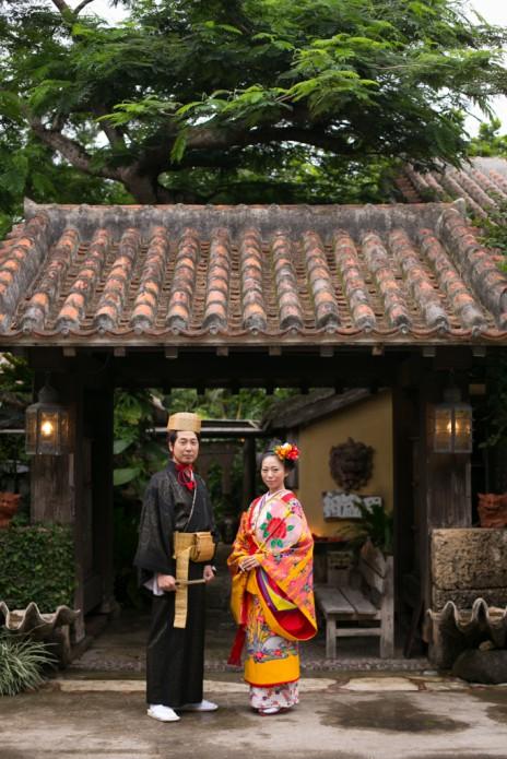 沖縄,結婚写真