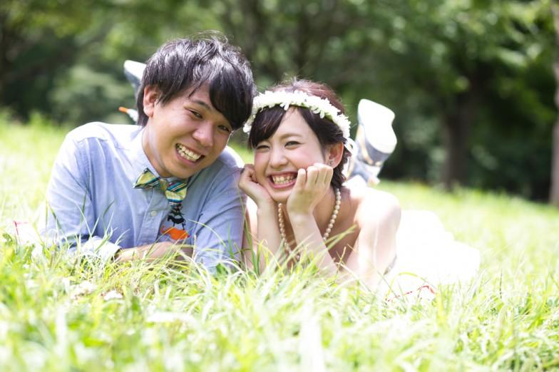 代々木公園,結婚写真
