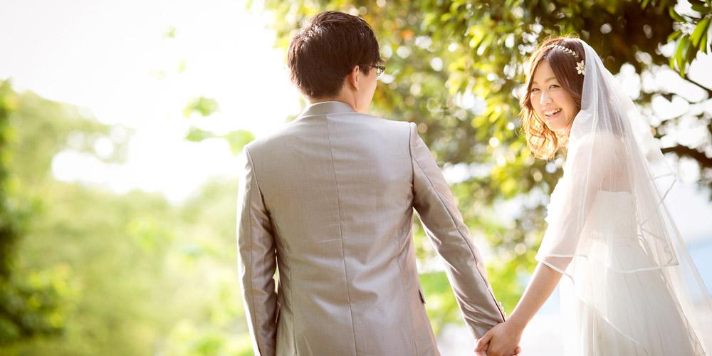 結婚式前の前撮りに使える!ロケーションフォトの魅力