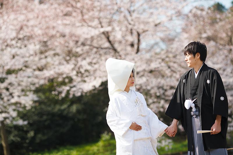 奥ゆかしさがポイントに。白無垢に映える花嫁メイク