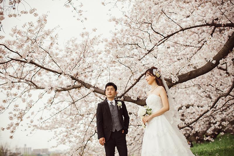 【東京編】春に結婚式の前撮りをするならココ! 桜の名スポット4選