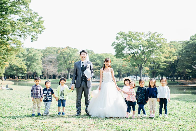 家族の絆を形にしよう! 子どもと一緒に撮影するウェディングフォト