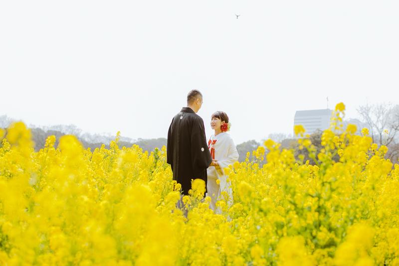 東京都内随一の癒しスポット、浜離宮恩賜公園