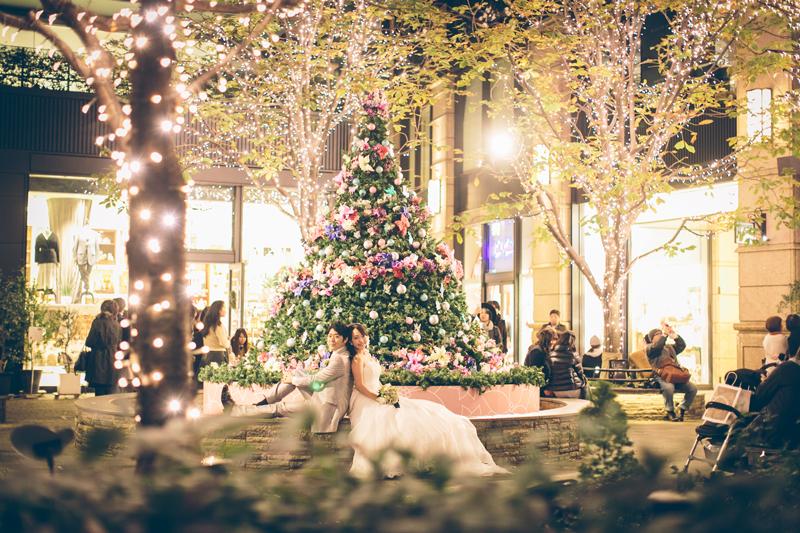 クリスマスらしい1枚を。都内のウェディングフォト撮影スポット4選