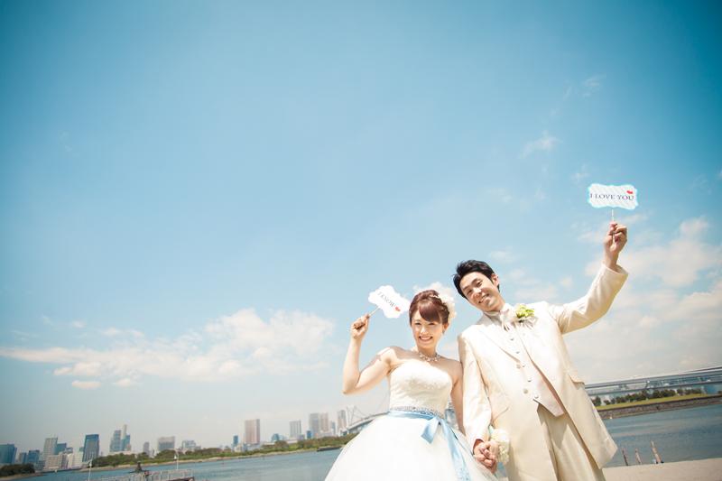 横浜のスポット「大桟橋」で撮りたい! ウェディングフォトアイディア