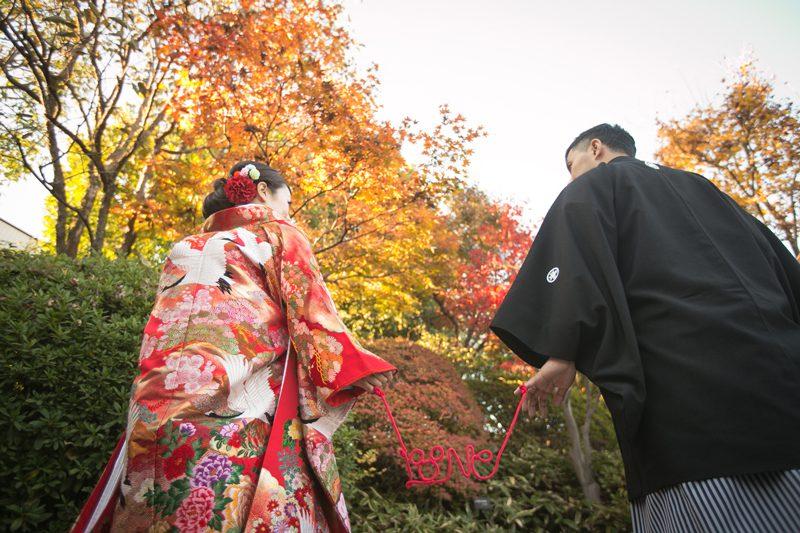 和装のウェディングフォトは秋が断然おすすめ! その理由とは?