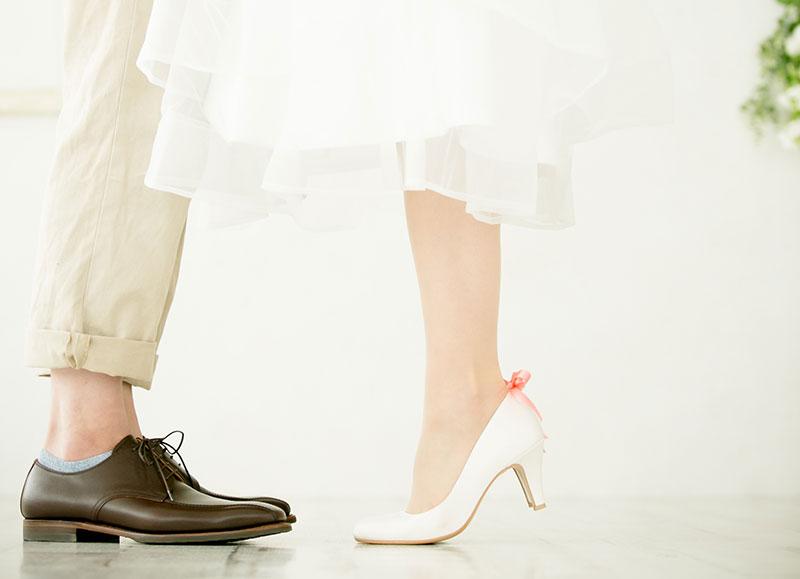 ウェディングフォトの前撮りにおすすめの花嫁靴4選