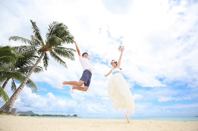 ハワイでのウェディングフォト撮影は「冬」がおすすめ! その理由は?