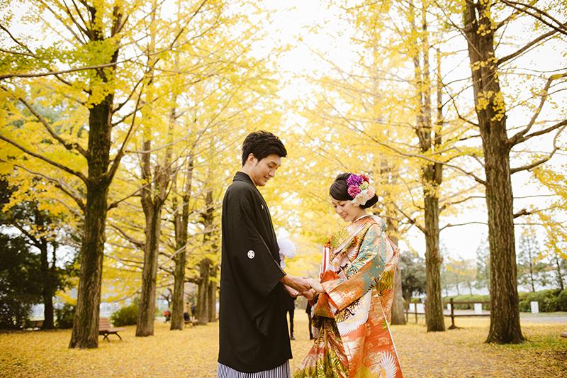 結婚式の前撮り、和装にぴったりのシーズンって?