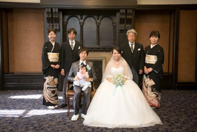 家族と一緒に撮るフォトウェディングで、今しかできない思い出作り!