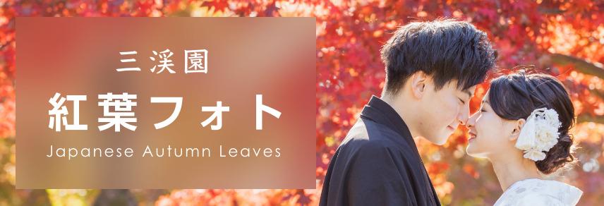 三渓園 紅葉フォトプラン